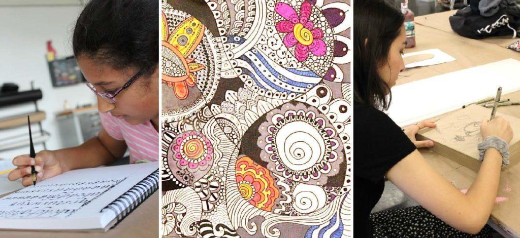 Monday, December 10: Creative Journaling & Drawing