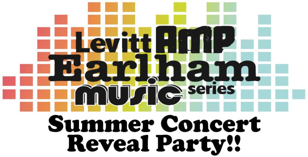 Friday, April 26: Levitt AMP Earlham Music Series Reveal Party