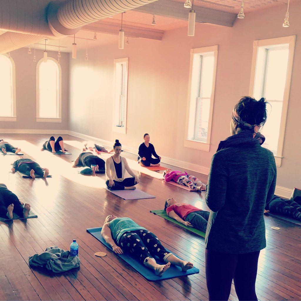 Saturday, June 1: Yoga at Bricker Price Block